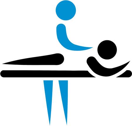 physiotherapist: Physiotherapist masseur icon