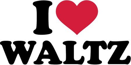 waltz: I love Waltz Illustration