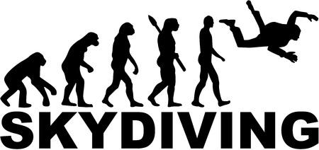 airplay: Evolution Skydiving Illustration