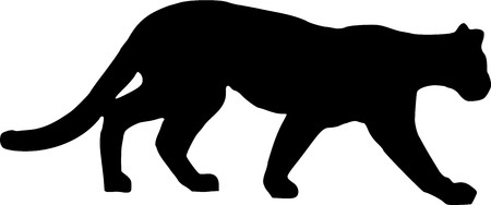 panther silhouette