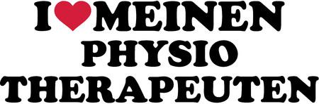 I love my physiotherapist german