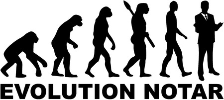 notary: Evolution notary with german job title