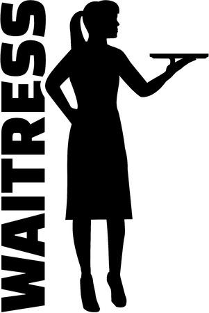 barmaid: Waitress with job title