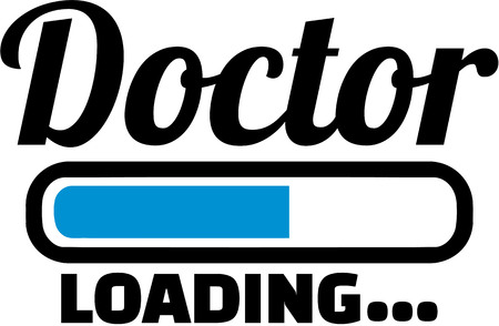 Doctor with Loading bar