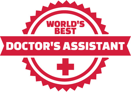 World's best Doctor's Assistant Ilustracja