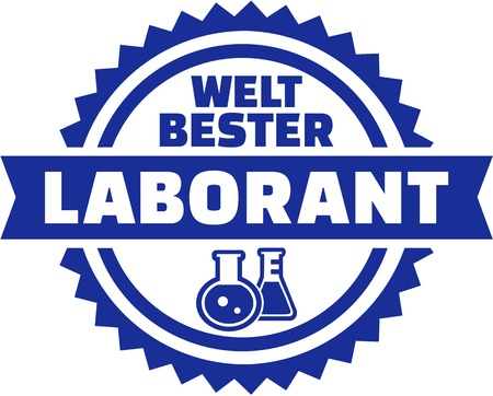 Worlds best laboratory technician german