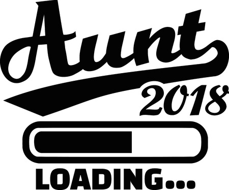 Aunt loading 2018 Illustration