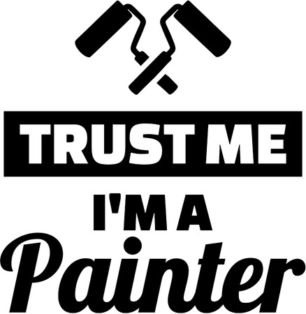 Confíe en que yo soy un pintor