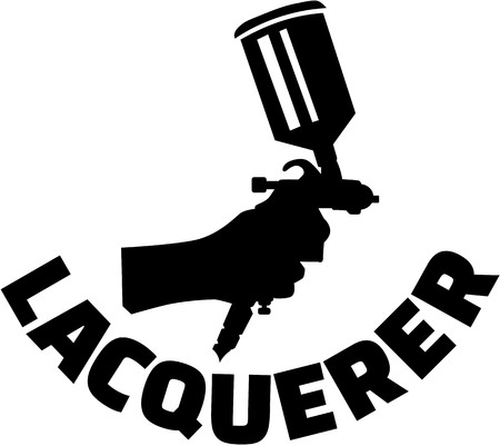Spray gun with lacquerer job title