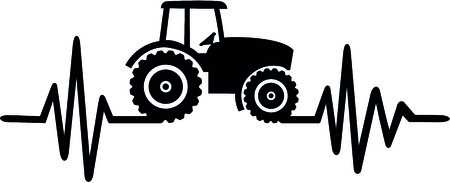 Heartbeat pulse with a tractor