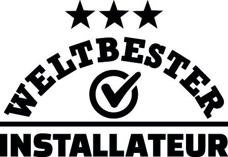 Worlds best installer installation german