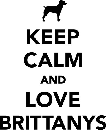 Keep calm and love Brittanys