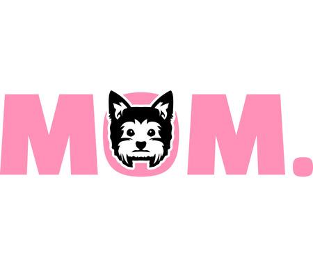 Yorkie best mom ever slogan