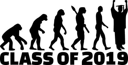 Class of 2019 evolution graduation