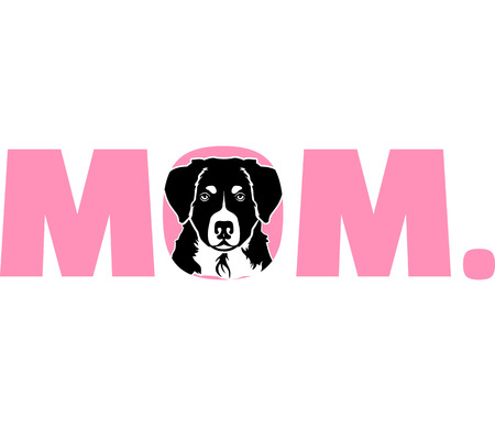 Bernese Mountain best mom ever slogan