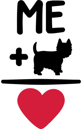 Me and my Westie love