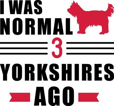 I was normal three Yorkshires ago slogan