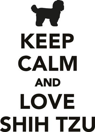 Shih Tzu, Shih, Tzu, dog, pet, puppy, breed, animal, canine, keep clam, keep, calm