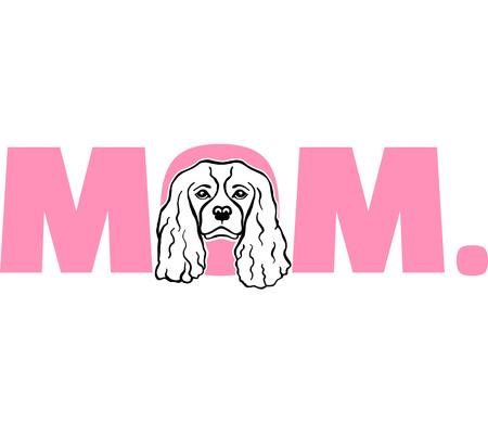 Cavalier King Charles best mom ever slogan