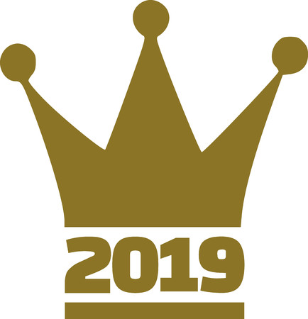 2017 with royal crown