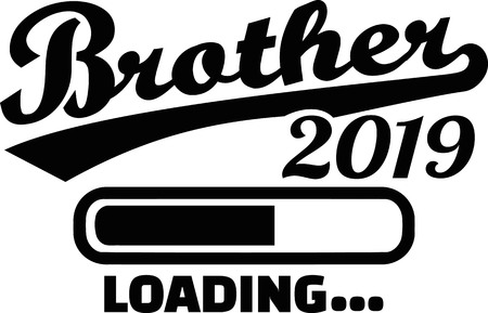 Brother loading bar 2019 Ilustrace