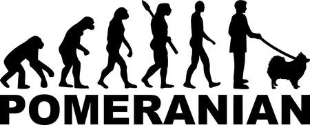 Évolution poméranienne avec nom