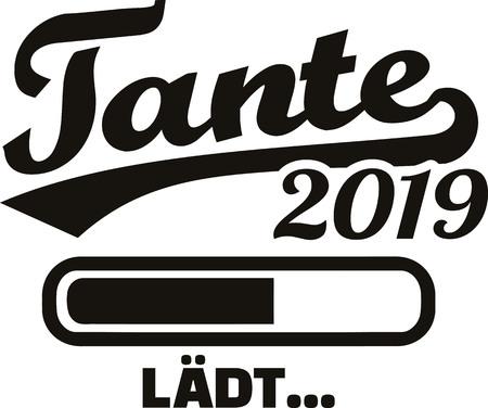 Aunt loading bar 2019 german Illustration