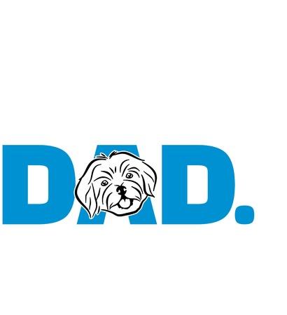Havanese best dad ever slogan