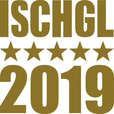Ischgl 2019 with golden stars
