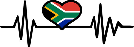 South Africa heart beat frequence