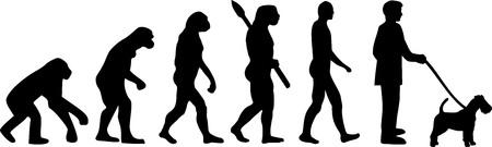 Fox Terrier dog evolution darwin