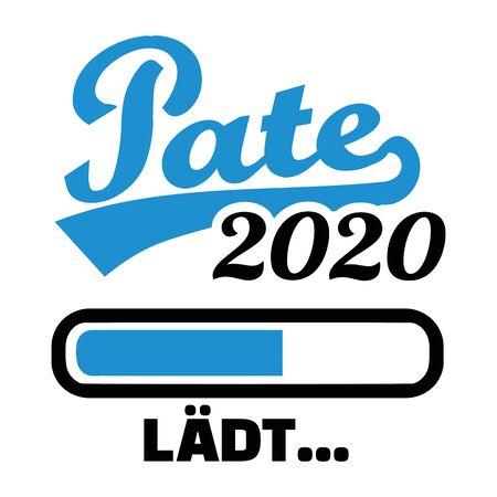 Parrain en 2020 chargement allemand