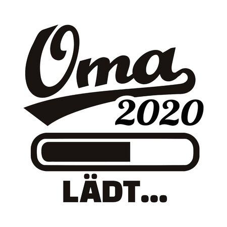 Grandma loading in year 2020 german