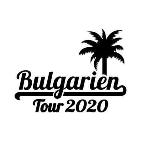 Bulgaria tour 2020 palmtree german