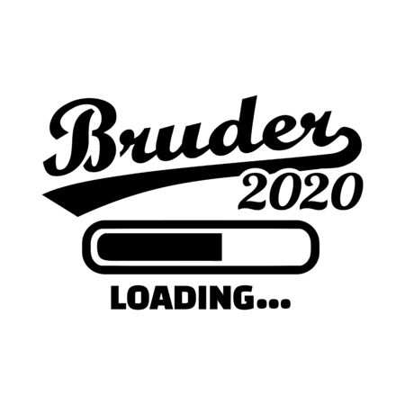 Brother loading in year 2020 german
