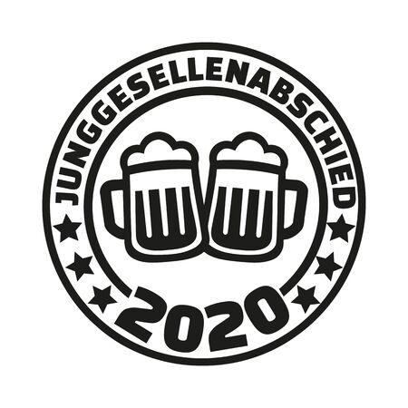 Stag night 2020 beer german