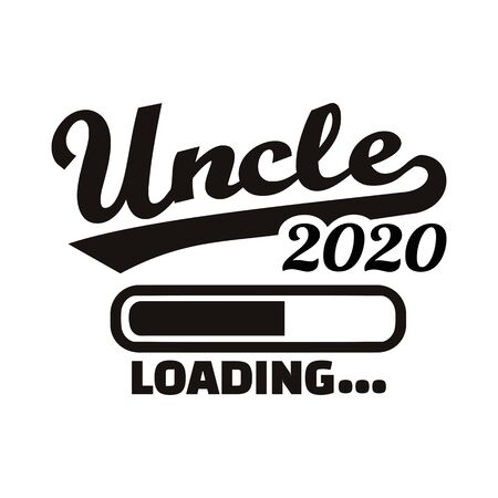 Uncle loading in year 2020 矢量图像