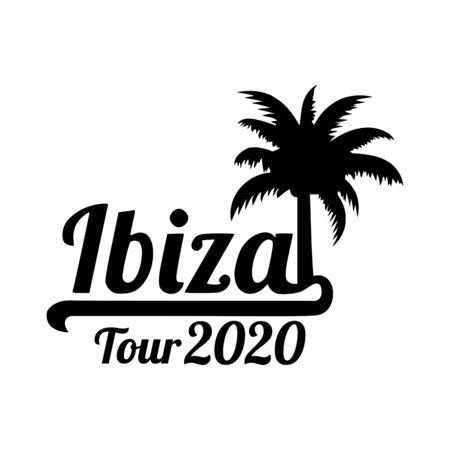 Ibiza tour 2020 palm tree