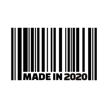 Made in year 2020 Barcode