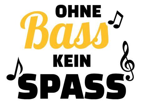 Choir bass slogan music german