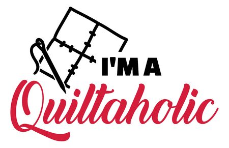 I am a Quiltaholic Quilting icon