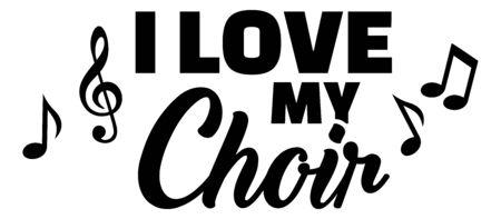 I love my choir icon