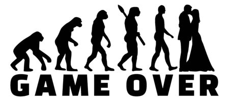 Game over marriage evolution icon