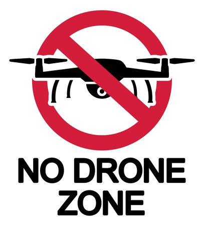 Ban no drone zone icon