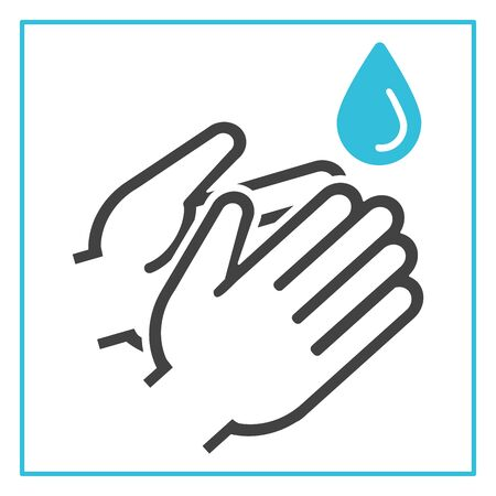 Protection washing hands avoid coronavirus covid-19