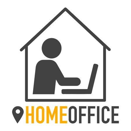 Work at home during corona covid-19 home office