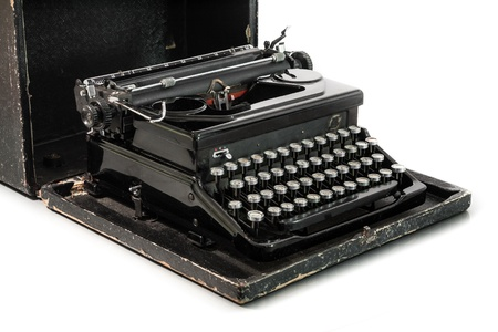 old fashioned: Old fashioned typewriter