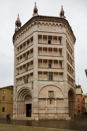 Baptistery of Parma, Emilia Romagna, Italy
