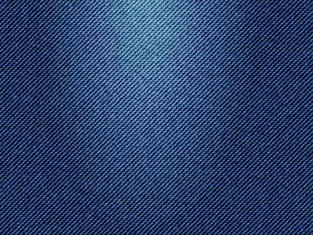 Blauwe jeans textuur, vector