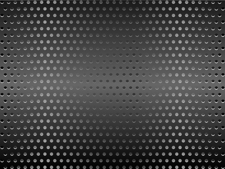 ventilation: Metal background texture vector